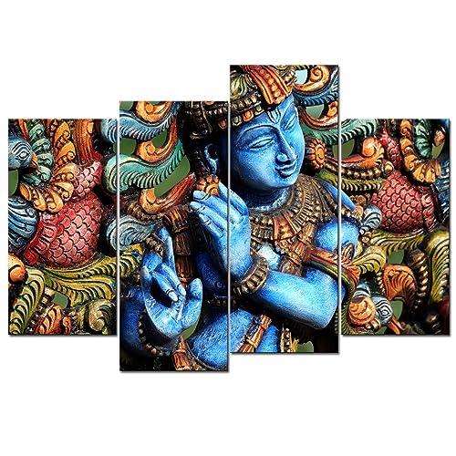 Lord Krishna Painting: Amazon com
