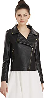 black jacket with gold zipper