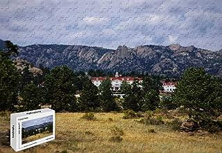 500 Piece Jigsaw Puzzle - Stanley Hotel Estes Park Co Wooden Puzzle,20.6 X 15.1 Inch