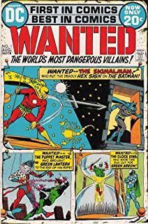 Wanted, the World's Most Dangerous Villains #1 VG ; DC comic book