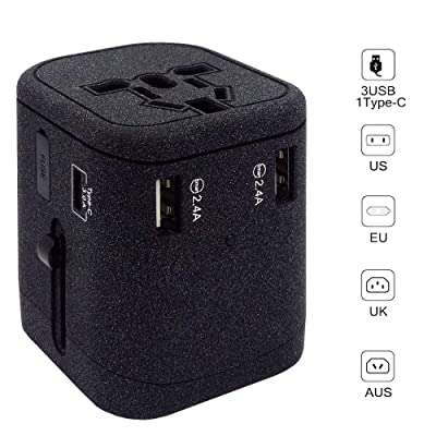 Adalite Travel Adapter, International Power Ada...