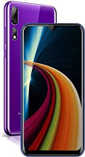Moviles Libres Baratos 4G Android 9.0 A40(2020) 5.7 Pulgadas Full-Screen 3GB RAM+32GB ROM/128GB Smartphone Libre 3800mAh Quad-Core Dual SIM Dual Cámara 12MP+5MP Moviles baratos y buenos (Azul)