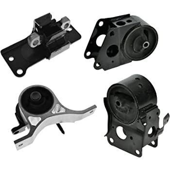 LSAILON Engine Motor and Trans Mounts Kit Front Rear Transmission Mount Compatible for 2003-2007 Murano 4PCS