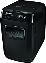 Fellowes AutoMax 130C 130-Sheet Cross-Cut Auto Feed Shredder with Jam Protection for Hands-Free Shredding (4680001)