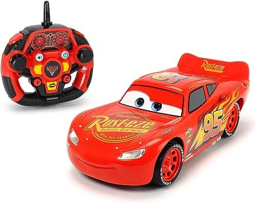 encuentra tu favorito aquí Majorette Cars 3 RC RC RC Coches radiocommandées (Flash Mcqueen, Jackson Storm,...) escaleras 1 16y 1 241 32  Tu satisfacción es nuestro objetivo