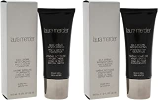 Laura Mercier Silk Creme Moisturizing Photo Edition - Bamboo Beige - Pack of 2 For Women 1 oz Foundation