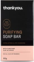 Thankyou Purifying Soap Bar with Clay & Pumice, 150g