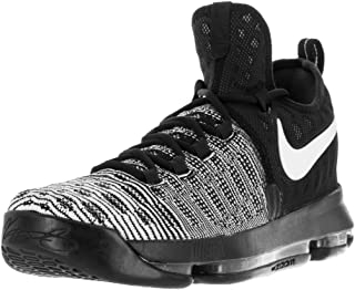 new arrival 28b14 25406 Amazon.com: Nike Zoom Kevin Durant Black/White - Basketball ...