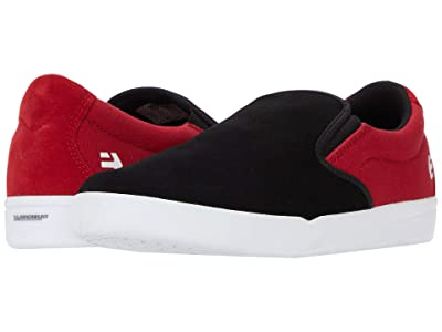 etnies Veer Slip (Black/Red) Men