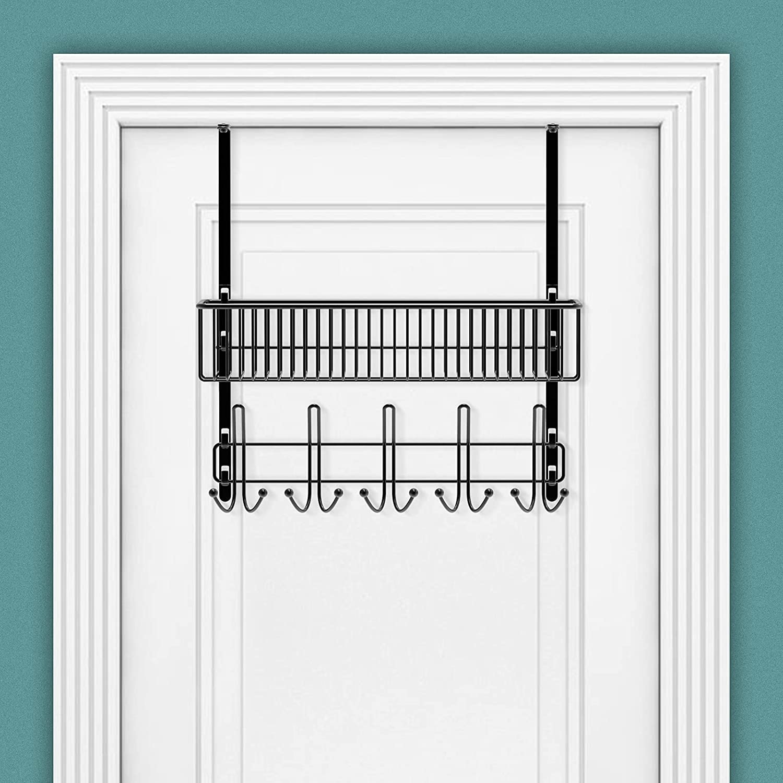 Lowest price challenge Over The Door Hooks with Mesh 10 - Max 83% OFF Doo Multipurpose Basket