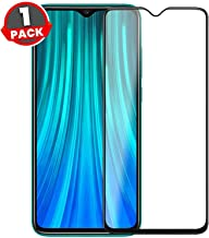 Doubledicestore Edge to Edge 6D/11D Tempered Glass Compatible with redmi Note 8 pro Full Coverage (Black)