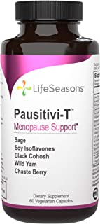 LifeSeasons - Pausitivi-T - Menopause Relief Supplement - Natural Support for Hot Flashes, Hormone Balance, Night Sweats a...