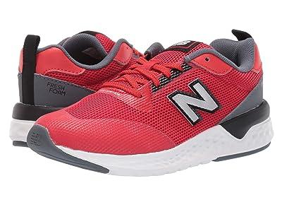 New Balance Kids 515 Sport (Little Kid/Big Kid) (Velocity Red/Black) Boys Shoes