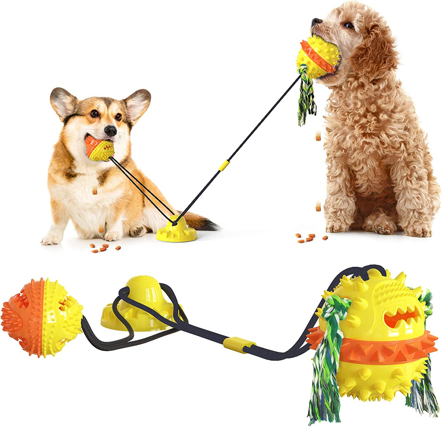 NO Reinforced Sucker Drawstring Ball Aggres Tug-of-War Toy Dog Sales of SALE items Free shipping on posting reviews from new works
