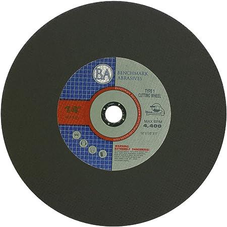 x 1 in Dia Aluminum Oxide  Chop Saw Wheel  10 pc. DeWalt  14 in