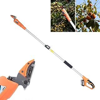 Fetcoi Snoeischaar, elektrische takkenschaar, telescopische elektrische schaar voor het uittakken, bonsai, tuin, bomen, bl...