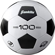 Franklin Sports Soccer Balls - Size 3, Size 4, Size 5 Traditional Soccer Balls - Youth and Adult Soccer Balls - Bulk Soccer Balls with Pump