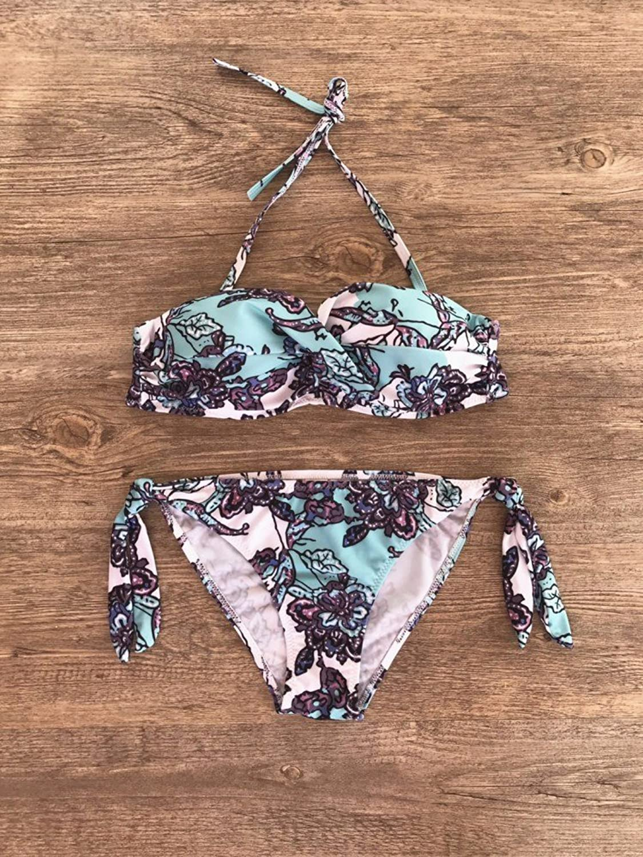 DHWMin Order to Stamp Low Waist Bikini