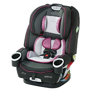 Graco 4Ever DLX 4 in 1 Car Seat | Infant to Toddler Car Seat, with 10 Years of Use, Joslyn , 20x21.5x24 Inch (Pack of 1): image