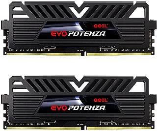 GeIL EVO Potenza AMD 16GB (2 x 8GB) 288-Pin DDR4 SDRAM DDR4 2400 (PC4 19200) Desktop Memory Model GAPB416GB2400C16DC