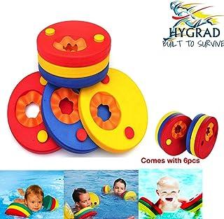HYGRAD® 6 Pcs Swim Discs EVA Foam Arm Bands Float For