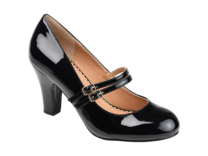 1950s Style Shoes | Heels, Flats, Boots Journee Collection Wendy-09 Pump Womens Shoes $39.99 AT vintagedancer.com