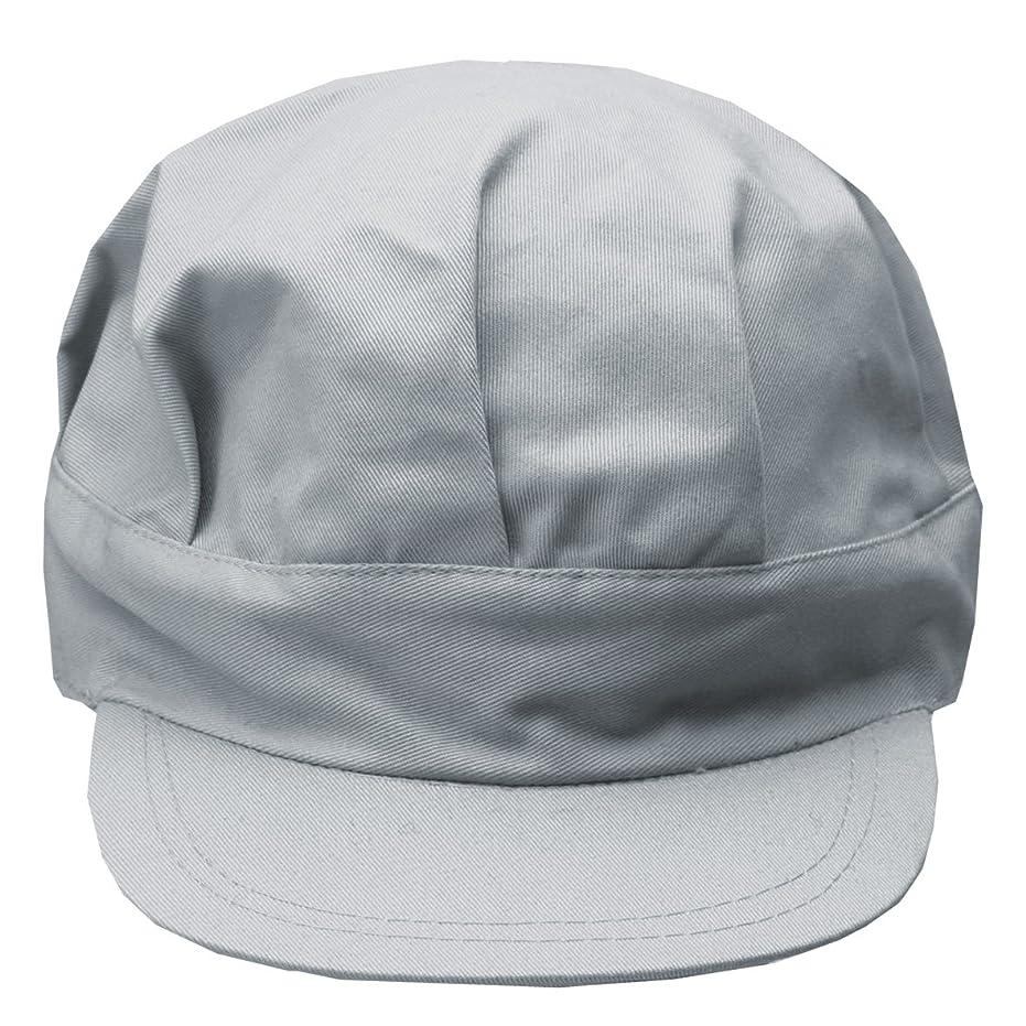 カンガルー伝染性バーター工場用作業帽子 八角帽 グレー