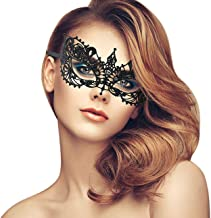 duoduodesign Exquisite Lace Masquerade Mask (Black/Venetian/Soft Version)