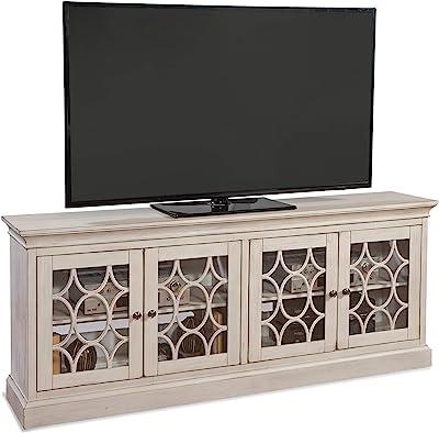 Martin Furniture Felicity 4 Door Console, White