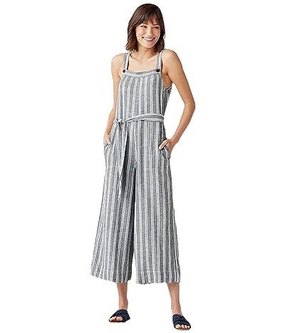 Splendid Sela Jumpsuit (Grey/White Stripe) Women