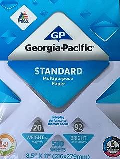 Best georgia pacific print paper Reviews