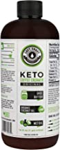Keto Coffee Creamer with MCT Oil - 16oz / 32 Servings (Must Be Blended) - No Carb Butter Coffee Booster | Ghee Butter, Organic Coconut Oil, MCT Oil