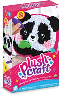Plushcraft Panda Pillow, Multicolor