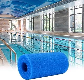 DeeCozy Filtro de bomba de piscina, esponja de filtro de piscina, filtros de espuma de filtro de piscina de filtros de esponja para filtro de piscina Intex tipo A reutilizable/lavable piscina