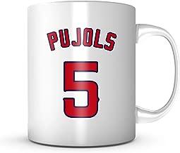 Albert Pujols Mug - Los Angeles Baseball 11 oz Coffee Cup