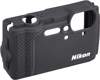 Nikon シリコンジャケット CF-CP3 BK ブラック(Nikon デジタルカメラ COOLPIX W300用)