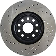 StopTech 127.33098L Sport Drilled/Slotted Brake Rotor (Front Left), 1 Pack