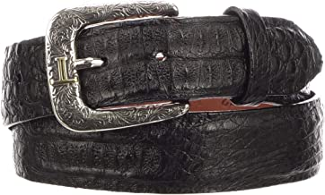 hornback caiman leather