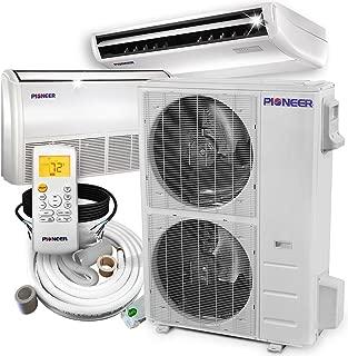 PIONEER Air Conditioner Inverter++ Split Heat Pump, 48,000 BTU, 208-230 V