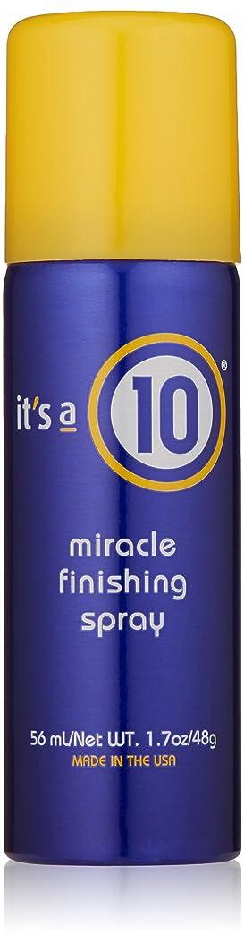 読みやすさ凍った分割It's A 10 Miracle Finish Spray 50 ml (並行輸入品)
