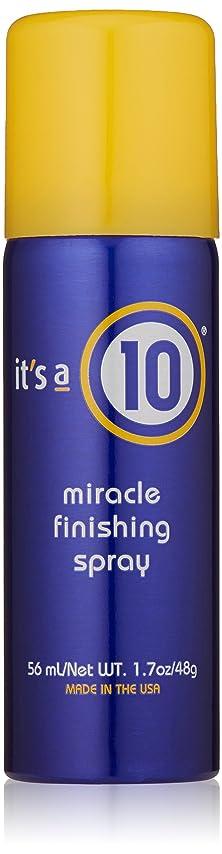 悪化する去るデマンドIt's A 10 Miracle Finish Spray 50 ml (並行輸入品)