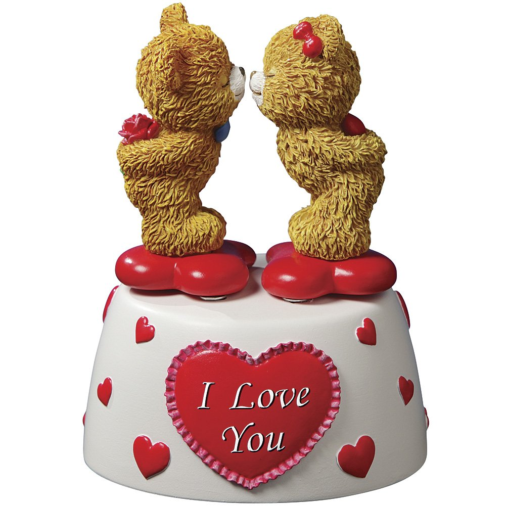 Image of Cute I Love You Bears Music Box