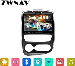 """ZWNAV 10,1"""" Android 9.0 Voiture Stéréo GPS Navigation GPS pour Renault Clio.."""