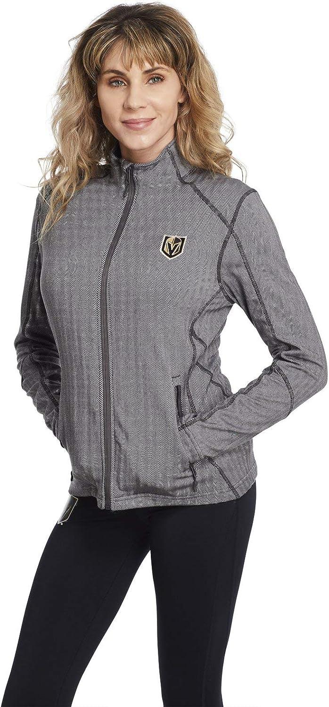 Women's Vegas 直輸入品激安 Golden Knights Charcoal Grey Jacket Ins Full Zip - 日本正規品