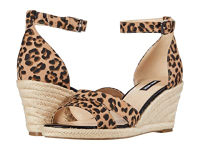 Nine West Jabrina Espadrille Wedge Sandal (Natural Multi) Women