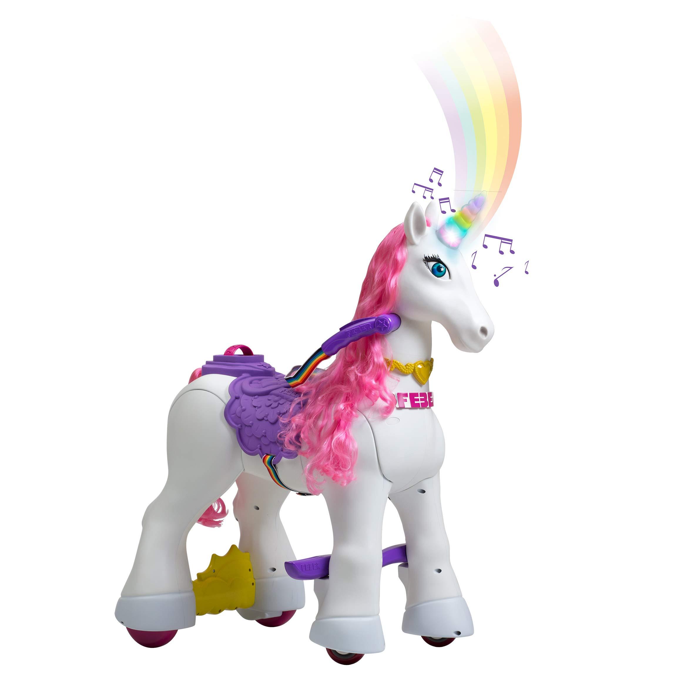 FEBER - My Lovely Unicorn con Melena Rosa, Mascota electrónica y ...
