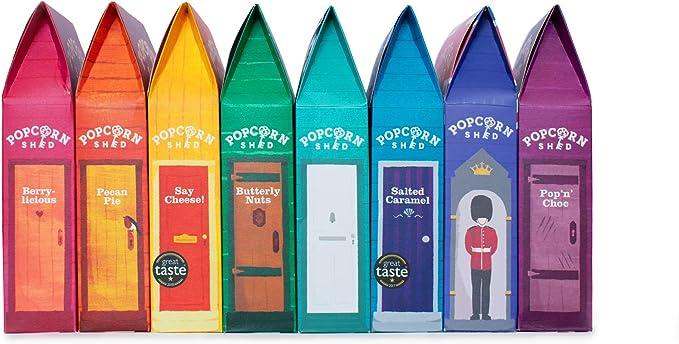 74 opinioni per Confezione da 8 gusti multi-popcorn: il regalo perfetto per i popcorn | Snack