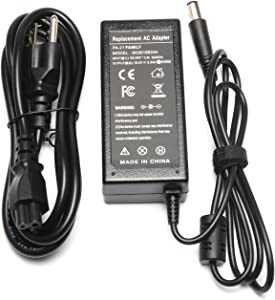 AC Adapter Charger Compatible for Dell-Inspiron 15R 5537 17R 5720 17R N7110 3137 3441 3442 3443 Dell-Inspiron Latitude 120L 131L D400 D410 D420 D430 E4200 E4300 E4310 E5250 E5400 19.5V 3.34A 65W