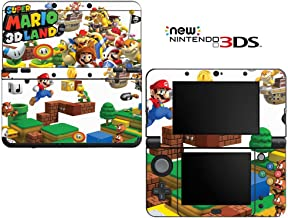 Super Mario 3D Land Decorative Video Game Decal Cover Skin Protector for New Nintendo 3DS (2015 Edition)