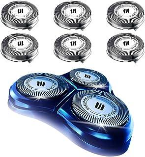 هد جدید تعویض HQ8 برای ریش تراش برقی فیلیپس Norelco تیغ ریش تراش سری HQ7 ، HQ8 ، AT8 ، PT7 ، PT8 ، 9 تیغه سیستم برش دقیق ، روتختی ، ارتقا new جدید
